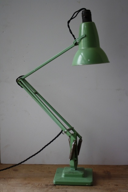 Green Anglepoise I just think of the Pixar short film...haha