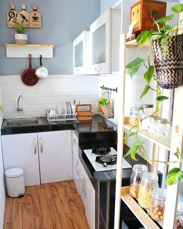 Dapur kecil minimalis di 2020 Desain interior rumah