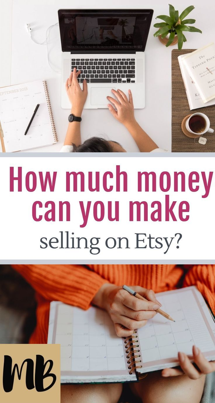 How Much Money Can You Make Selling on Etsy? Selling on