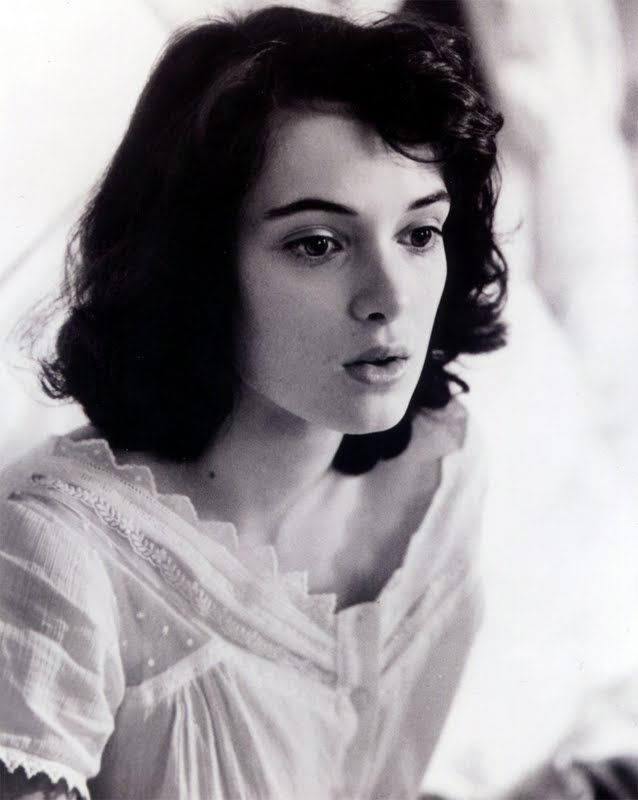 Winona Ryder, esp. as Jo March. Of all actresses, she's the only one that reminds me of my mom.