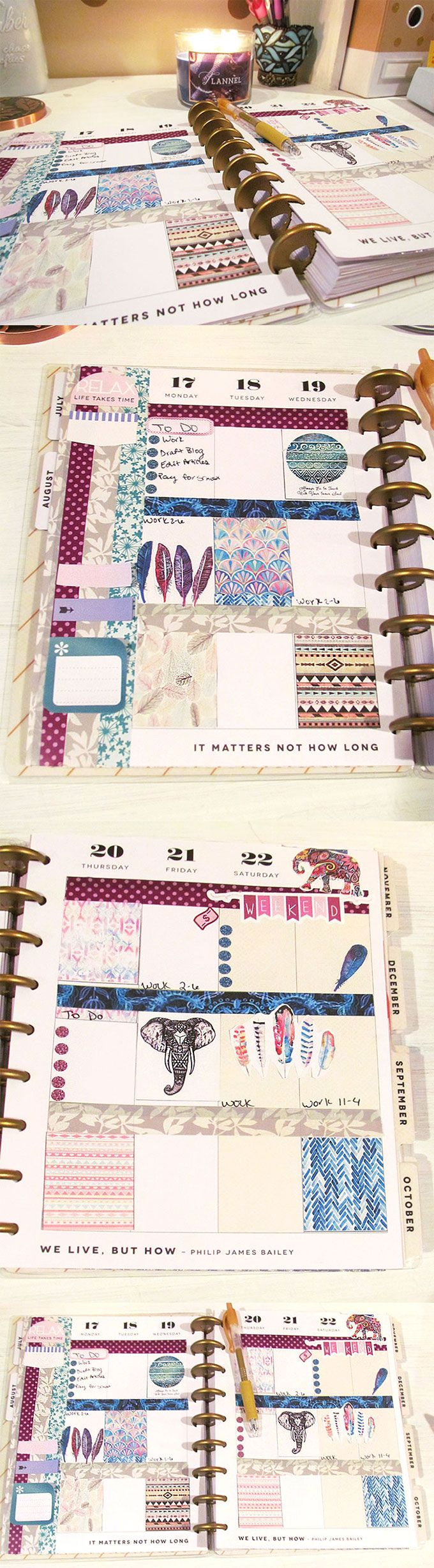 Free planner stickers and how-to glam plan! www.fellybee.com http://ewoodworkingprojects.com/making-reclaimed-bench/