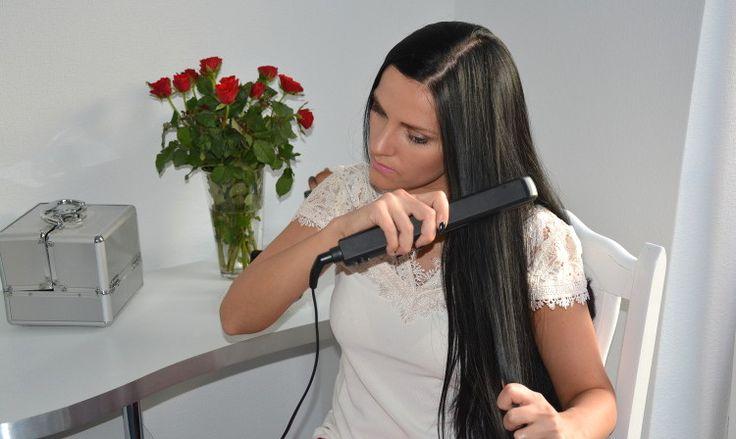 Prostowanie włosów w domu | fitandfashion.pl