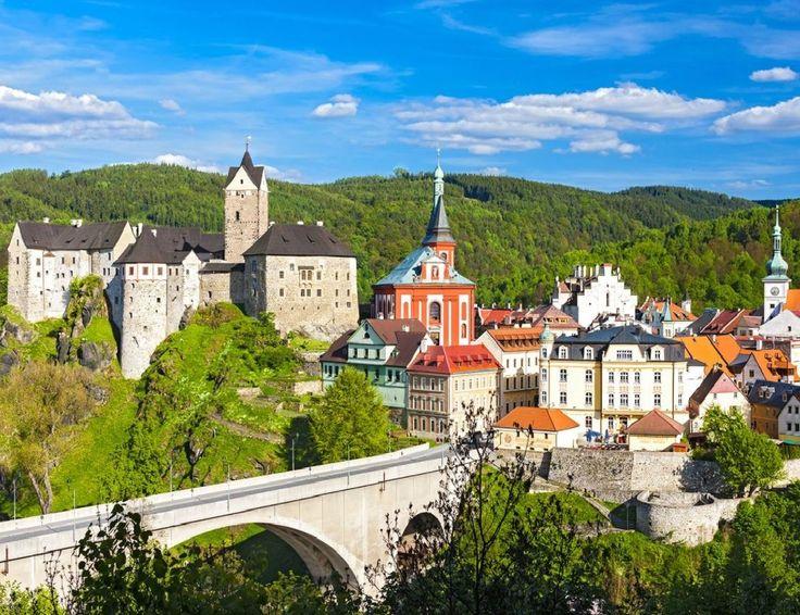 Loket medieval town (North-West Bohemia), Czechia