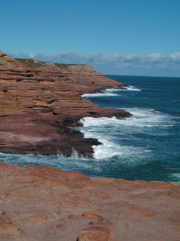 Coast line near Kalbarri NP