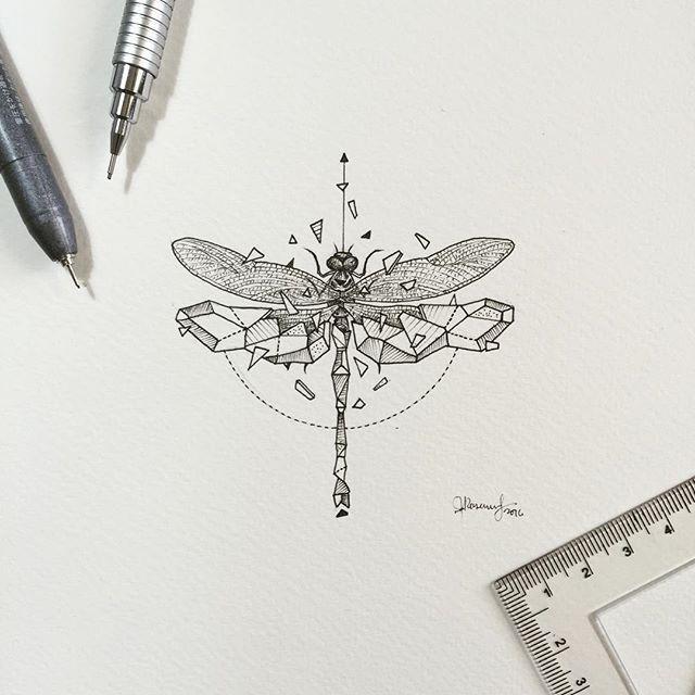 Geometric Beasts | Dragonfly