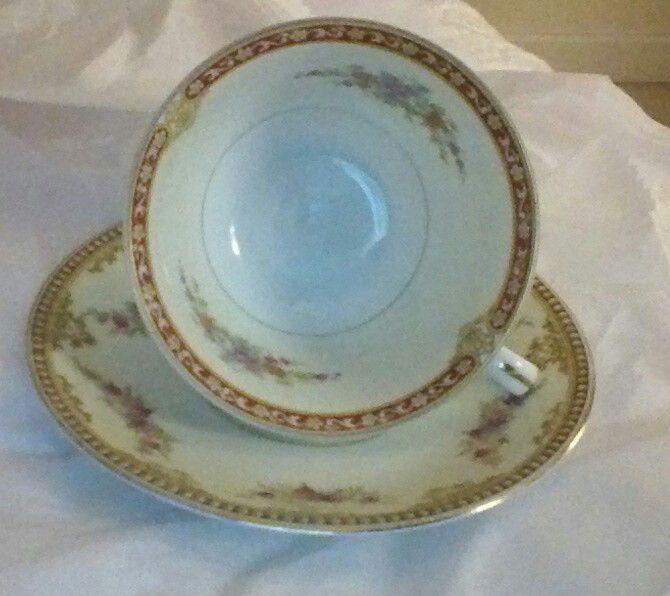 Tea Cup Noritake-made in Occupied Japan Saucer Noritake China Japan