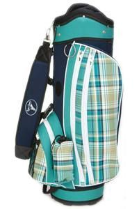Sassy Caddy Preppy Ladies Golf Bag Get the very best in Golf Push Carts and More @ http://bestgolfpushcarts.net/product-category/golf-push-carts/caddy-tek/