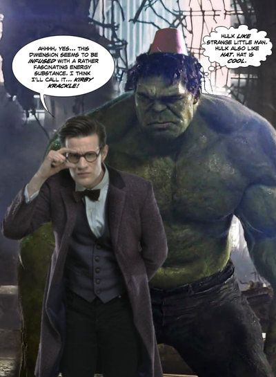 Hulk in a fez... part 1 by Soulman-Inc.deviantart.com on @deviantART