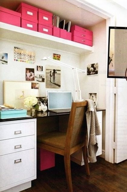 Take advantage of bright spaces. | 23 Unexpected Ways To Transform An Unused Closet