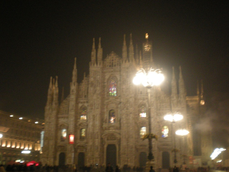 Duomo by Night... Milan, 1st January '13, 1 am