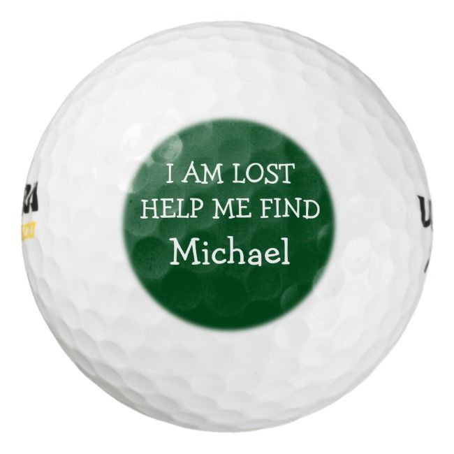 Funny Men S Lost Golf Balls Zazzle Com Golf Quotes Golf Quotes Funny Golf Ball