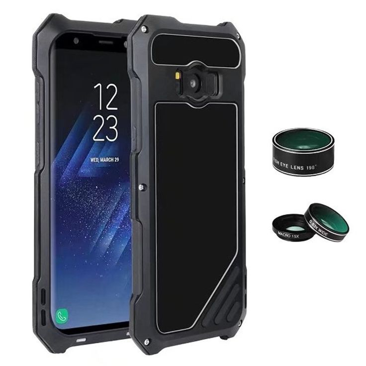 Galaxy S8 Case,Mangix Luxury Aluminum Alloy Protective Metal Extreme Shockproof Military Bumper Finger Scanner Cover Shell Case with Camera Lens for Samsung Galaxy S8 (Black). Keep your Samsung Galaxy S8 safe with the ultimate in aluminum protection. Stylish and sleekly designed aluminum bumper. 100% Brand New &Perfectly fits for your Samsung Galaxy S8,case weight:150g. Finger Scanner Support for Samsung Galaxy S8. Fashion design,looks very cool,the case for man,soldier,warrior,Outdoor...