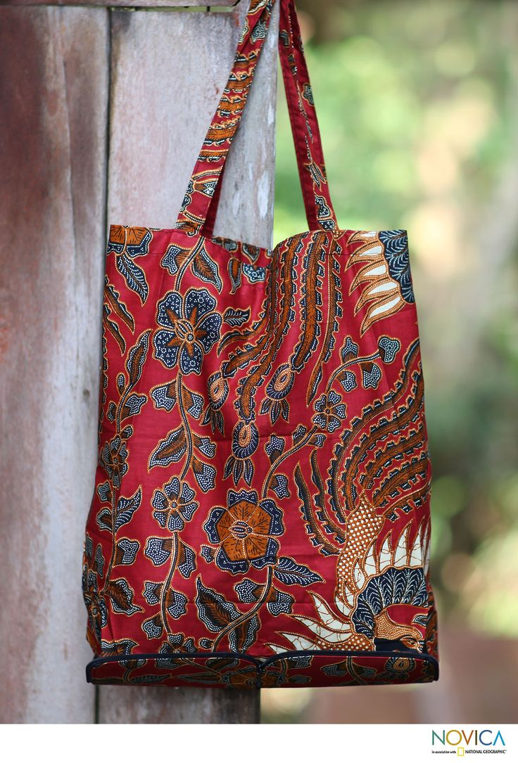 Surakarta+Legacy+-+Handcrafted+Batik+Cotton+Shopping+Tote+Bag+at+The+Animal+Rescue+Site