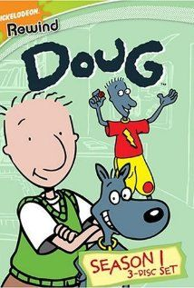 """Doug - 11 year old Doug Funnie moves to Bluffington from Bloatsburg. """"Doug"""" follows his adventures as he writes in his journal. He falls in love with Patti Mayonnaise and befriends Skeeter ..."""