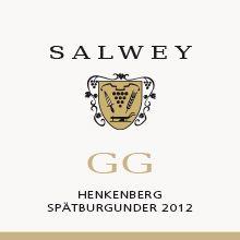 Best SALWEY's Pinot Noir from Henkenberg, which is called Spaetburgunder in Germany.