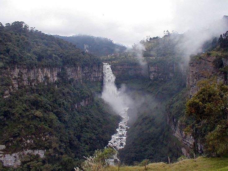SALTO DEL TEQUENDANA EN CUNDINAMARCA COLOMBIA..................(Paisajes colombianos) http://www.chispaisas.info/tequendama.htm