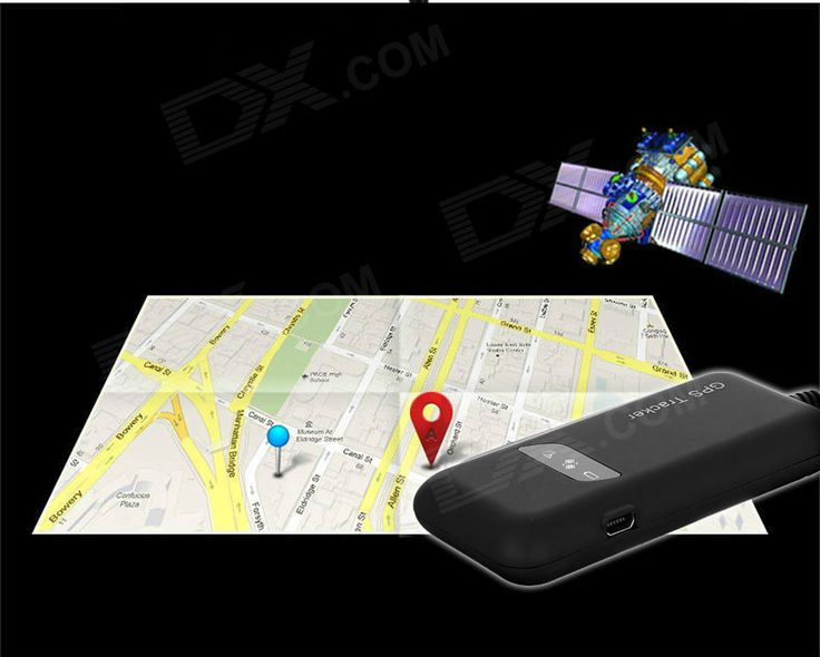 HC06A GPS / GSM / GPRS Anti-theft Monitoring & Controlling Platform Tracker for Car - Black - Free Shipping - DealExtreme