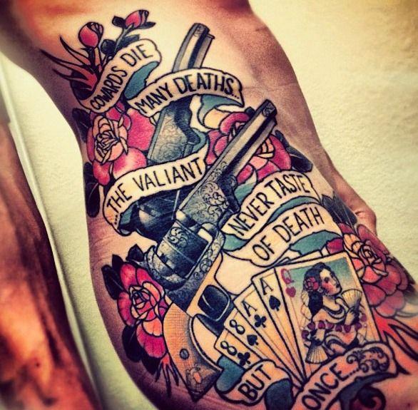 Old School Fashion Quotes: Badass Shakespeare Tattoo