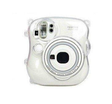 CAIUL Transparent Crystal Protective Instax Mini Case for Fujifilm Instax Mini 25 Instant Cameras,Transparent