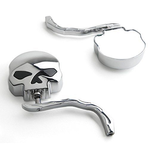24 Motorcycle Skull Accessories your motorcycle is dying to have! Overview: and then a breakdown of each. Skull Headlights SkullBlinkers Skull Air Cleaner Covers SkullExhaust Tips Skull Floorboards Skull Mirrors Bonus – Skull Helmets (duh) Skull Headlights Skull Enterprises SK-1337 Skull Motorcycle Headlight With this awesome Skull Enterprises SK-1337 Skull Motorcycle Headlight, you can add …