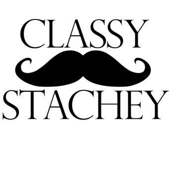 Classy stachey!                                                                                                                                                                                 More