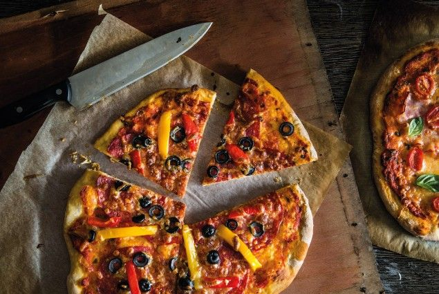 Salami pizza - Vieme čo vám chutí