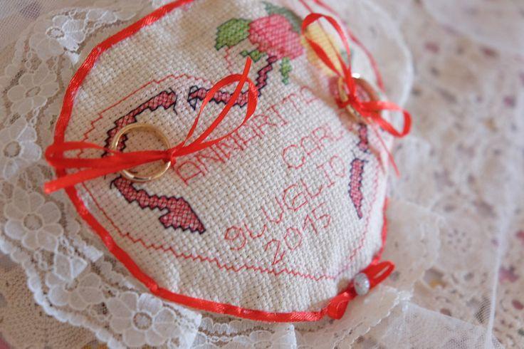 Il Cuscino portafedi, by Il meraviglioso mondo di Annarita, 15,00 € su misshobby.com