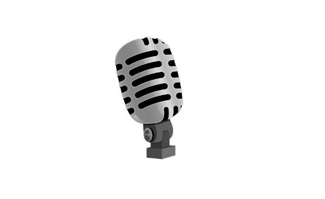 STUDIO MICROPHONE #emoji https://www.emojimantra.com/