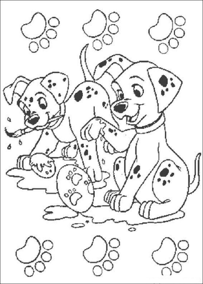 101 Dalmatas Dibujos Libro De Colores Paginas Para Colorear Disney Paginas Para Colorear De Animales