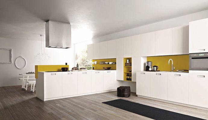 Elegant White Kitchen Cabinet