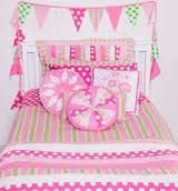 The Emma bunting above this bed adds an air of fun