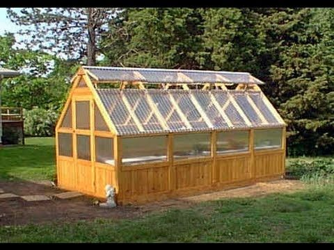Greenhouse Kits Cedar Wood Frame Hobby Greenhouse Using