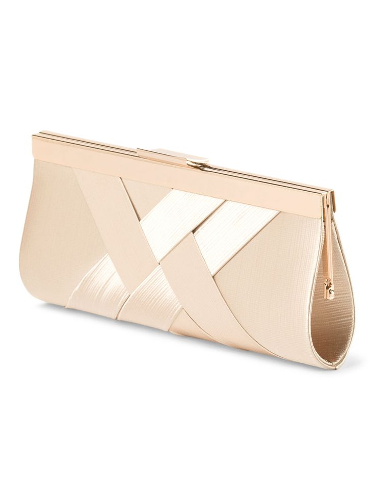 This rose satin clutch would pair perfectly with any color cocktail dress!