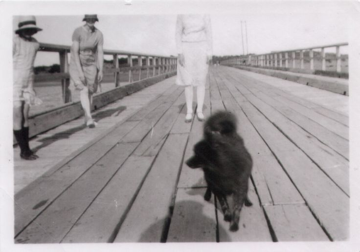 Barwon Heads.  After 1927 [when bridge opened]. Size 8.5 x 6.5 cm