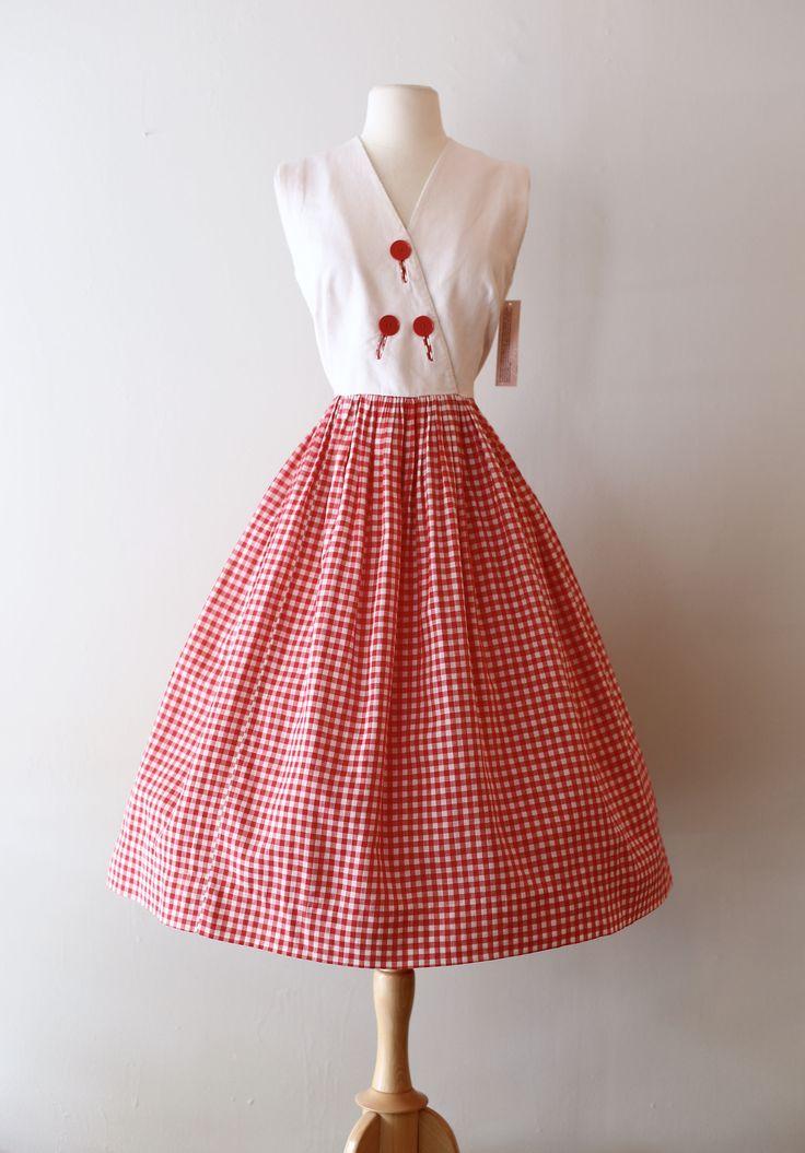 Mejores 155 imágenes de vestidos de los 50 en Pinterest | Vestidos ...