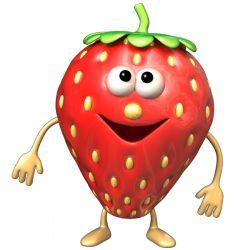 Sticker Fruigolo fraise