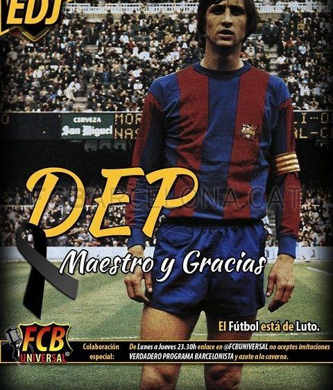Resumen de prensa posterior a la muerte de Johan Cruyff | FC Barcelona