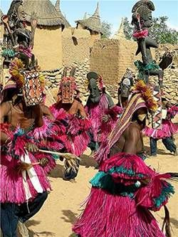 Dogon Tribe | ... two anthropologists had lived among the dogon tribe in africa since