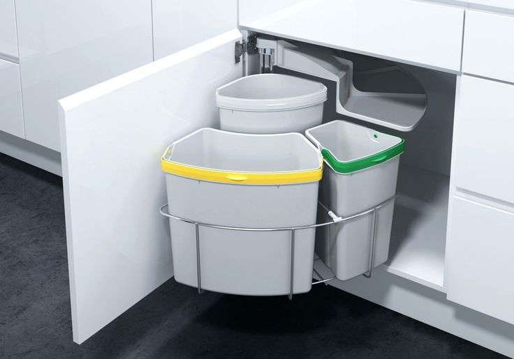 Best 25 Kitchen Trash Cans Ideas On Pinterest Cabinet