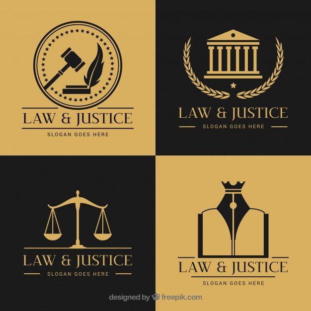 Download Law Logotype Set For Free Modelos De Cartao Cartoes De