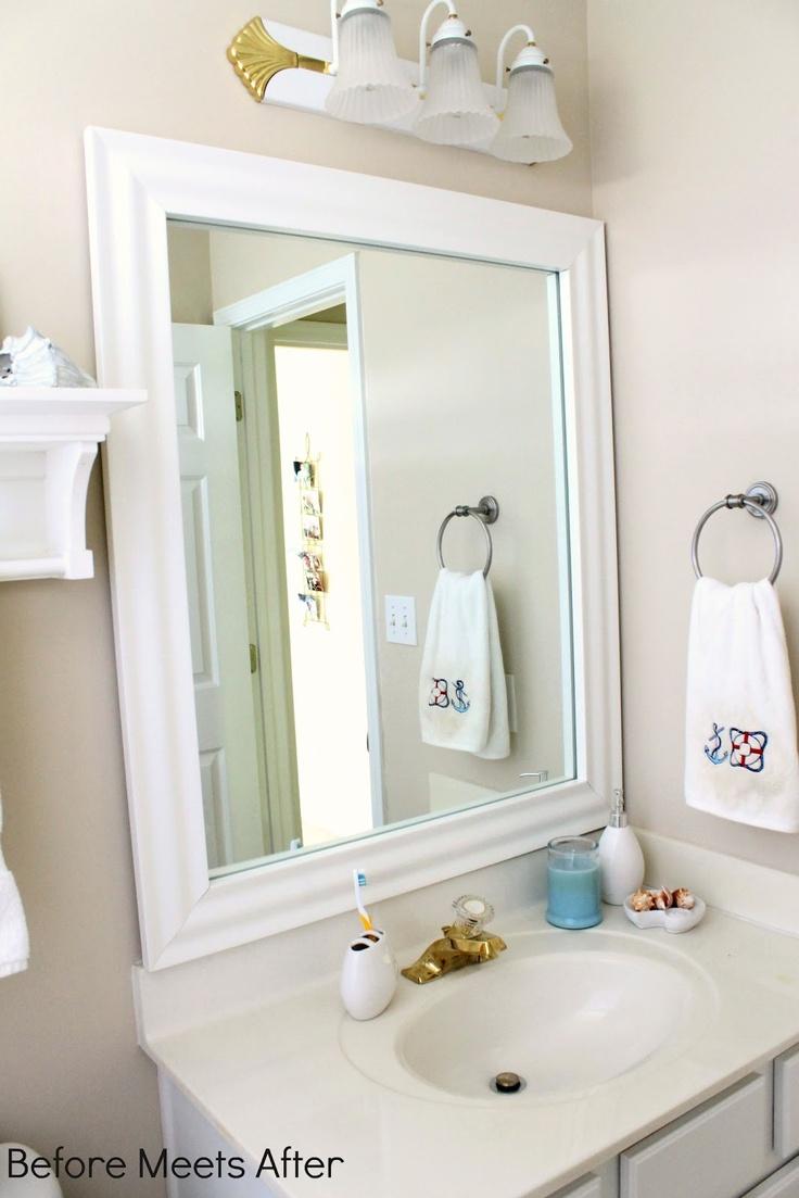 99 Best Design Diy Blogger Makeovers Images On Pinterest Custom Mirrors Mirror Mirror And Slim