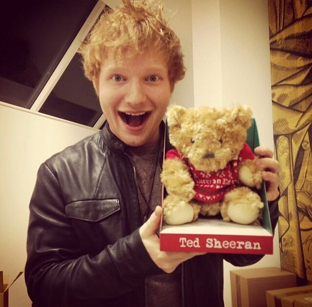 Ed Sheeran is the cutest