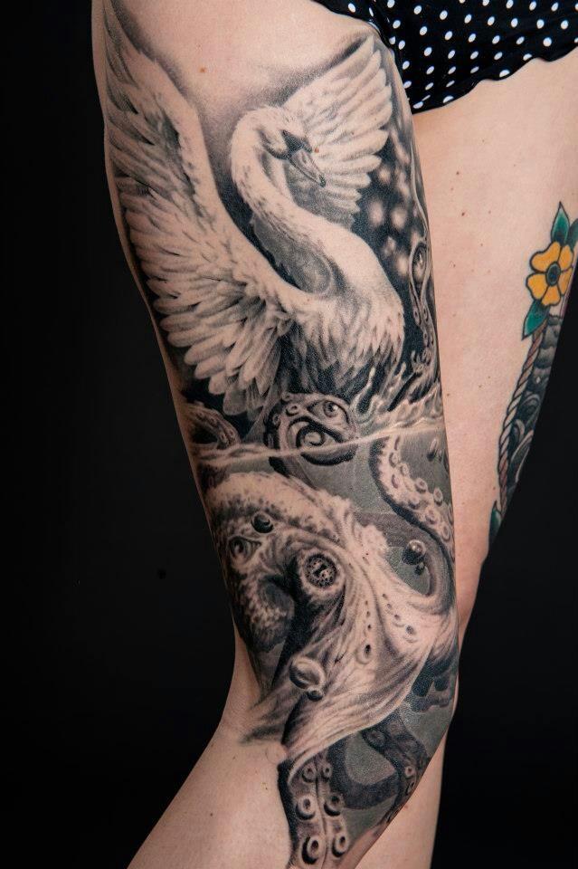 Arlo Dicristina Tattoo Artist: Artist Arlo Dicristina 40hrs Of Work