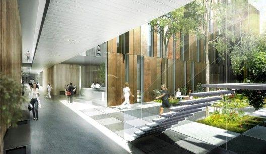 Helsingborg Hospital, Sweden | Courtesy of Schmidt Hammer Lassen Architects