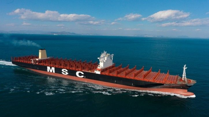 MSC Oscar, World's largest containership, to be classed by DNV GL | Maritime news | VesselFinder