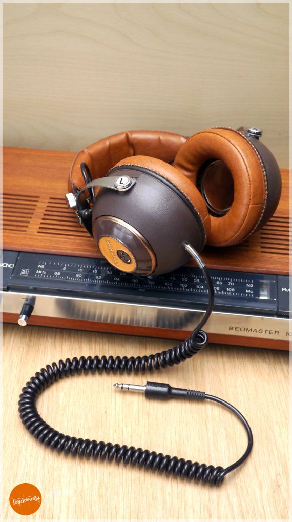 Vintage Pickering PH 4955 headphones by joandsonja. Follow us on Facebook: http://www.facebook.com/joandsonja