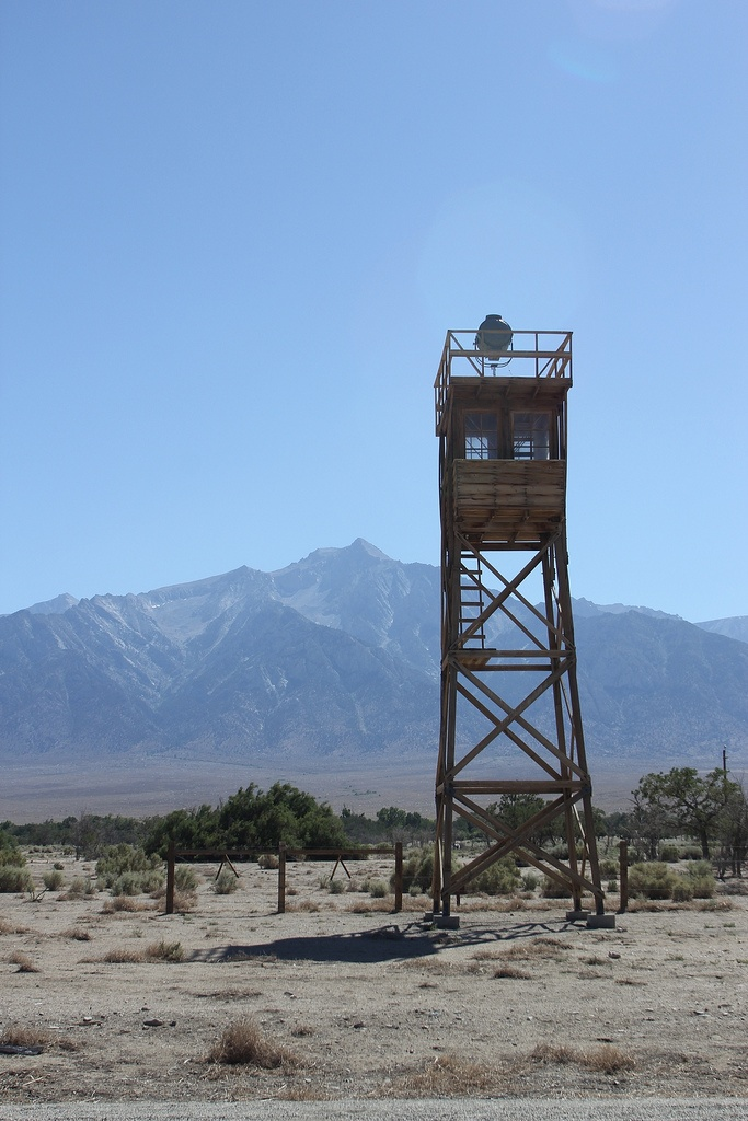 Manzanar Internment Camp: Guard Tower