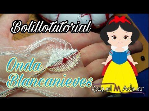 014 Onda punto de Lienzo. Curso Completo Encaje de Bolillos Raquel M. Adsuar Bolillotuber - YouTube
