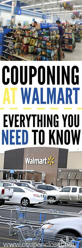 Couponing at Walmart - Tips you need to know before you shop.