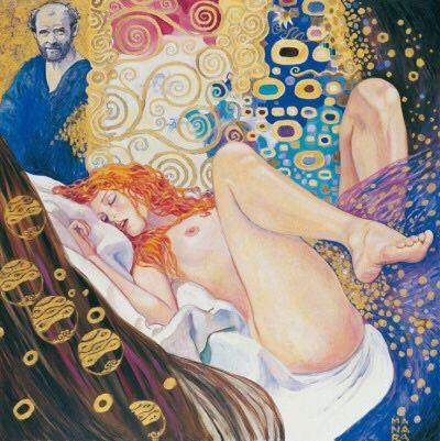 * Gustav Klimt - - - Milo Manara - (030-003)